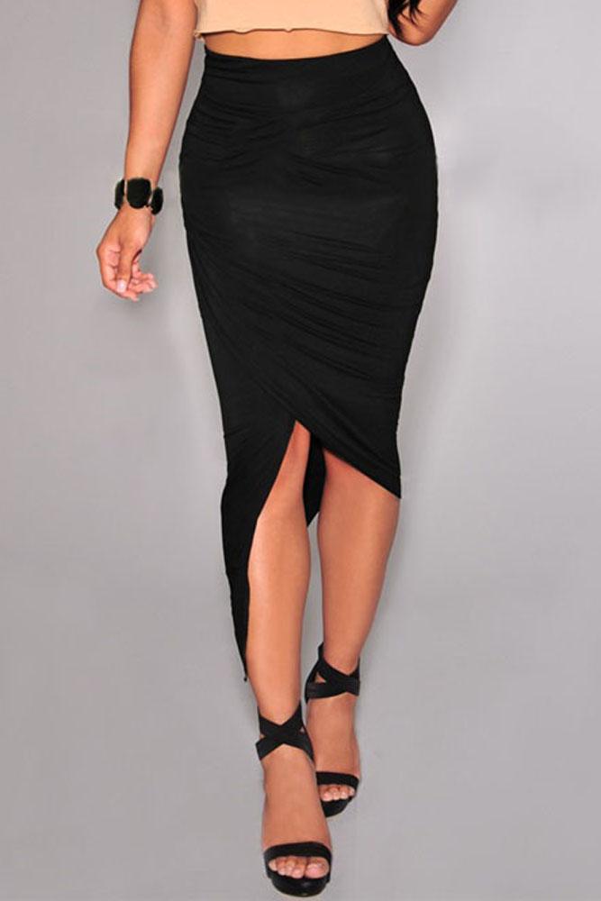 black-asymmetrical-draped-skirt-llc71133p-2-3