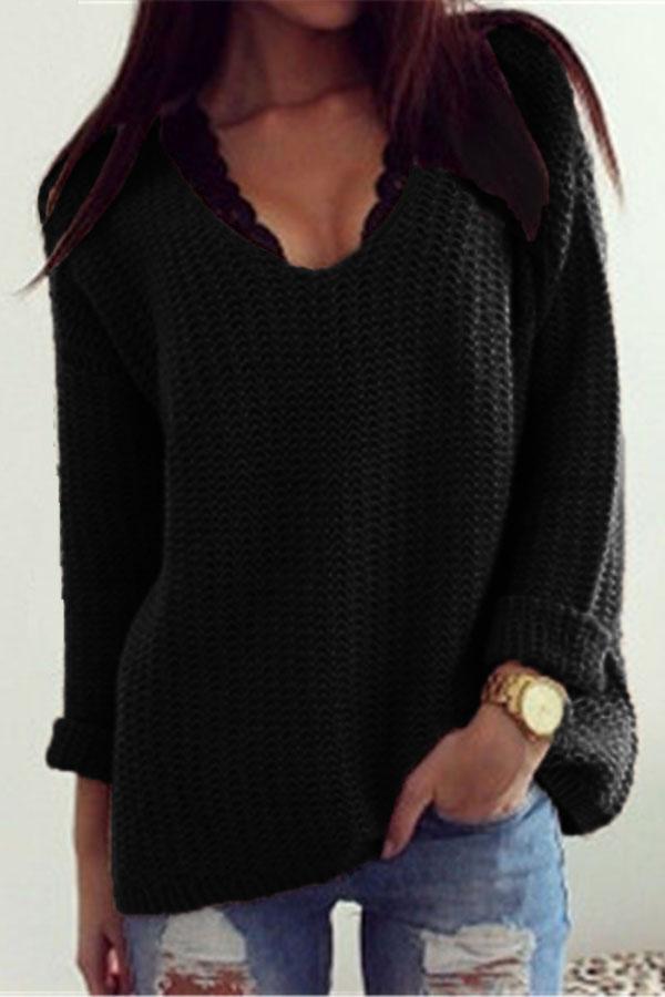 black-retro-loose-v-neck-cozy-oversized-sweater-llc27609p-2-4