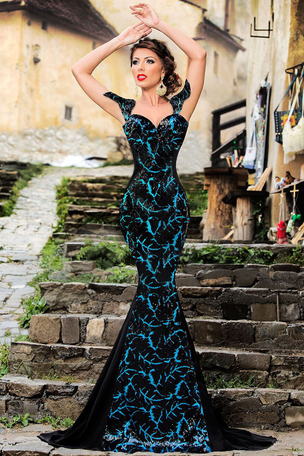 black-sequin-embellishment-elegant-mermaid-evening-gown-llc60844p-2-3