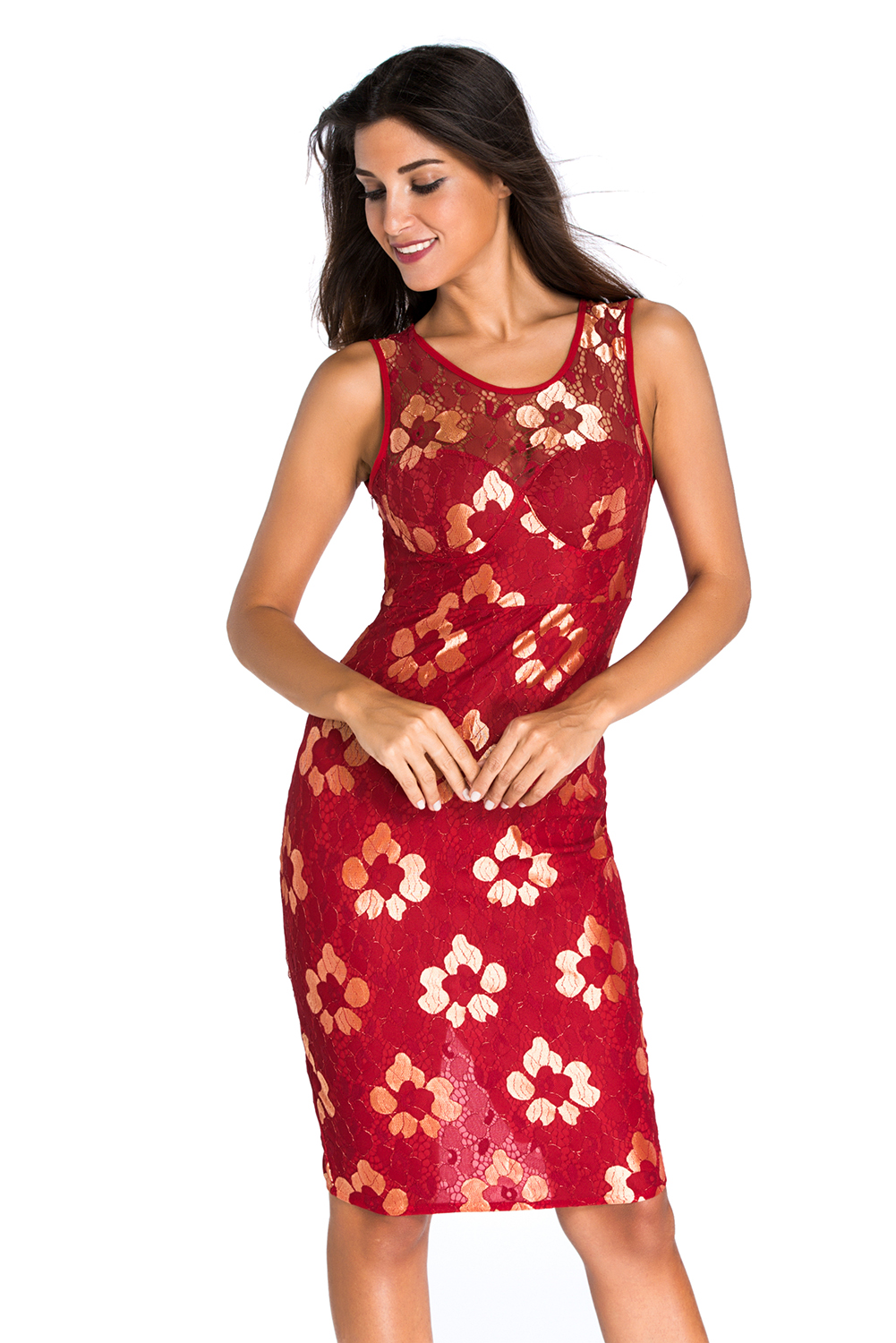 golden-embroidered-red-floral-dress-llc22668p-3-4
