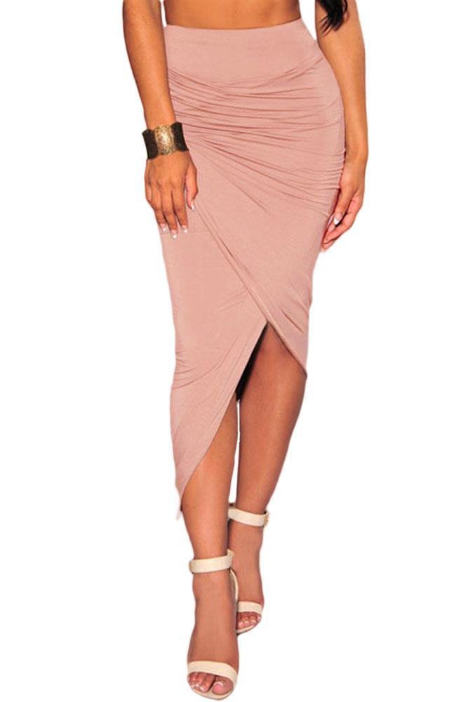 pink-asymmetrical-draped-skirt-llc71133p-1-1