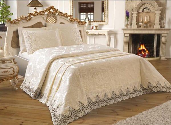 couvre lit de luxe au maroc